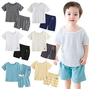 """NWT Vaenait Baby Infant Kids Boy Short Pajama set Outfit Clothes /""""Lion/"""" 2T-5T"""