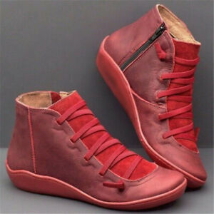 women arch support ankle boots multi colors hotflatheel