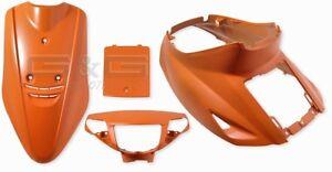 Capot-Kit-carenage-verkleidungsteile-en-orange-mat-pour-Yamaha-Jog-50