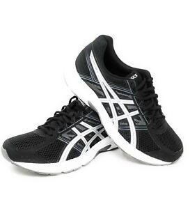 c12d354c0e61 ASICS Mens Gel-Contend 4 Running Shoe Medium Black Silver Carbon ...