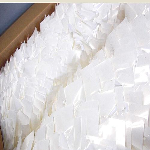 "FLOWER POT KWIK COVERS 6/"" Bridal PEARL White WEDDING PLANNERS LOOK! Lot of 25"