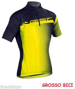 gist abbigliamento  ABBIGLIAMENTO BICI GIST MAGLIA FLOW GIALLO FLU MISURA S | eBay