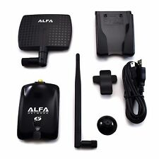 Alfa AWUS036NHA Wireless N USB Adapter Atheros AR9271 + 7dBi Antenna + U-Mount