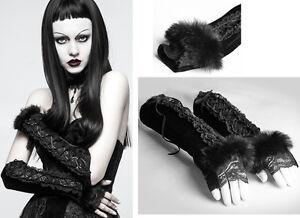 Mitaines-gants-manche-gothique-lolita-baroque-velours-dentelle-fourrure-Punkrave