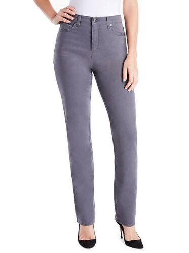 Size 16 NWT Ashfall Gray Gloria Vanderbilt Amanda Jeans