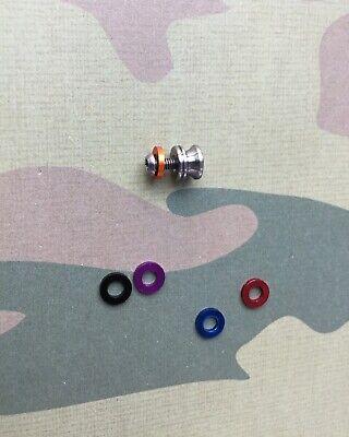 Benchmade Barrage Titanium Knob  Thumb Stud Coloured Ring • Colour Choice