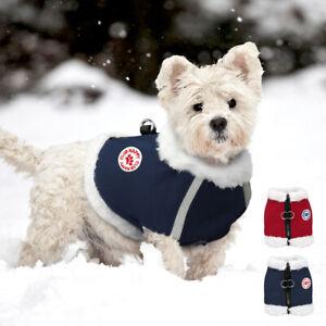 Hundegeschirr-Hundejacke-Hundekleidung-Weste-fuer-kleine-mittelgrosse-Hunde-S-XL