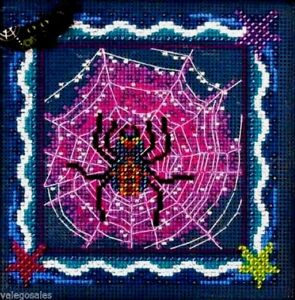 Mill-Hill-Beads-Buttons-Counted-Cross-Stitch-kit-TANGLED-WEB-Sale-14-2205