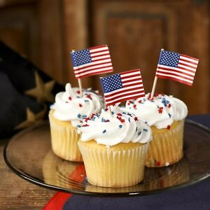 American-Flag-Cupcake-Picks-Toppers-100-count