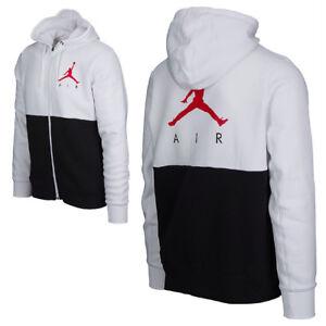 Detalles de Jordan Jumpman air Graphic full ZIP Hoodie sudadera Sweat camisa Fleece ver título original