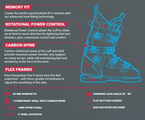 Atomic Redster WC 170 Lifted Ski Boots NEW ! M26.5