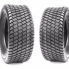 (2) Turf Lawn Mower 18X8.50-10 Tires 18X850-10 18-8.50-10 4Ply Tires Grassmaster