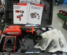 New Ridgid 57363 Rp241 Compact Press Tool Kit With 12 34 1 Propress Jaws