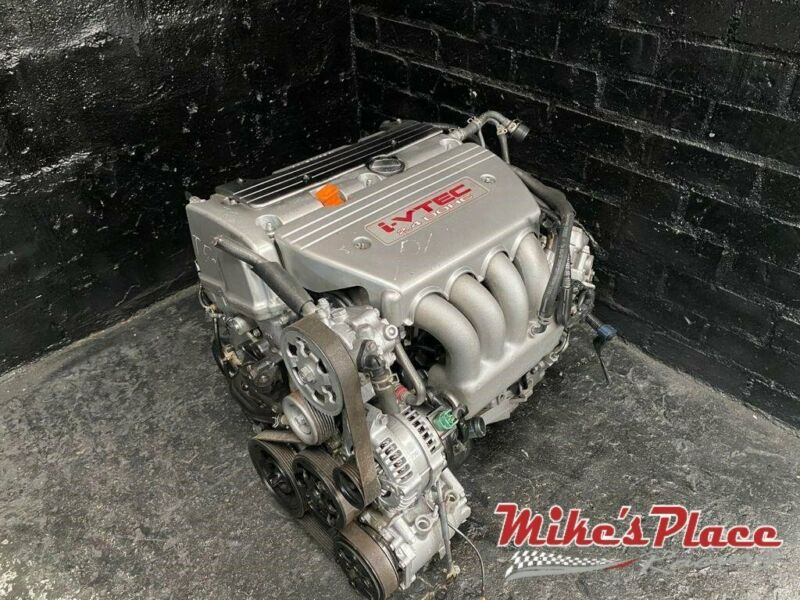 Honda Accord TYPE S 2.4i K24A3 Engine + 6 Speed Box for Sale at Mikes Place