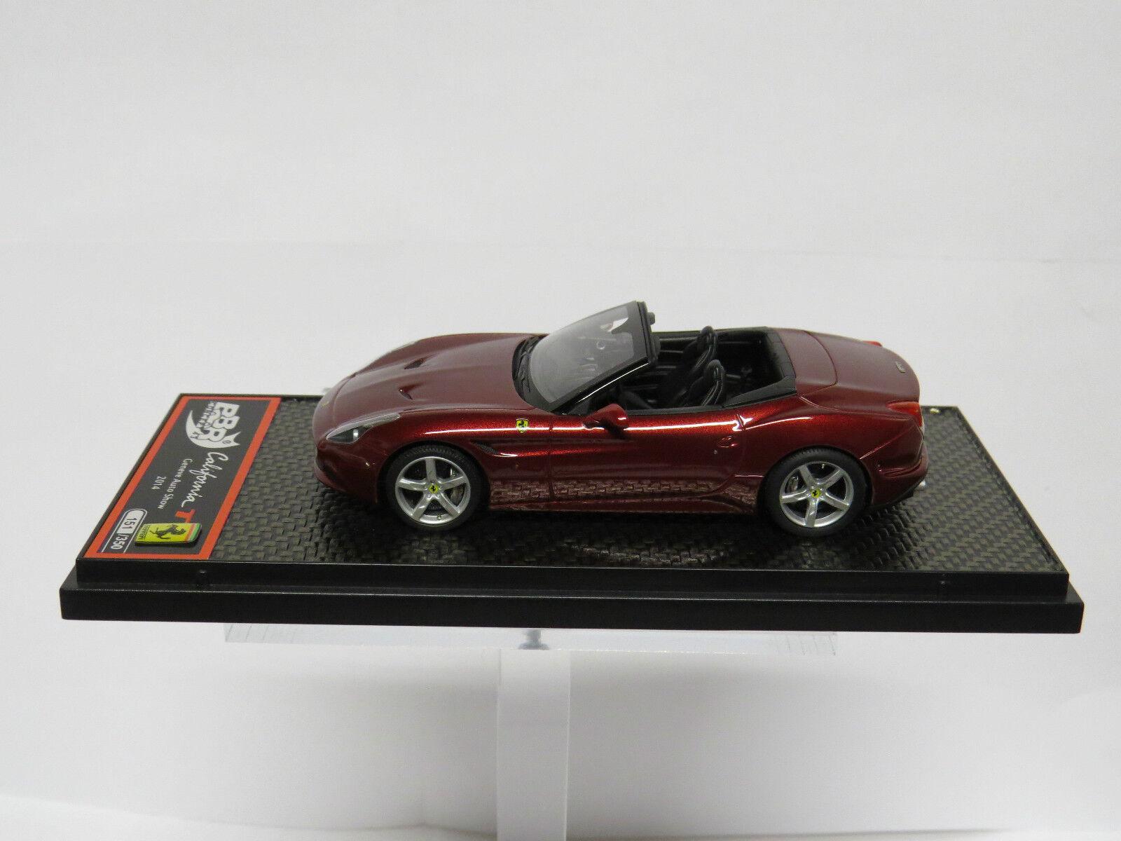 Ferrari California T Rosso California Limited 350 PCS BBR C139