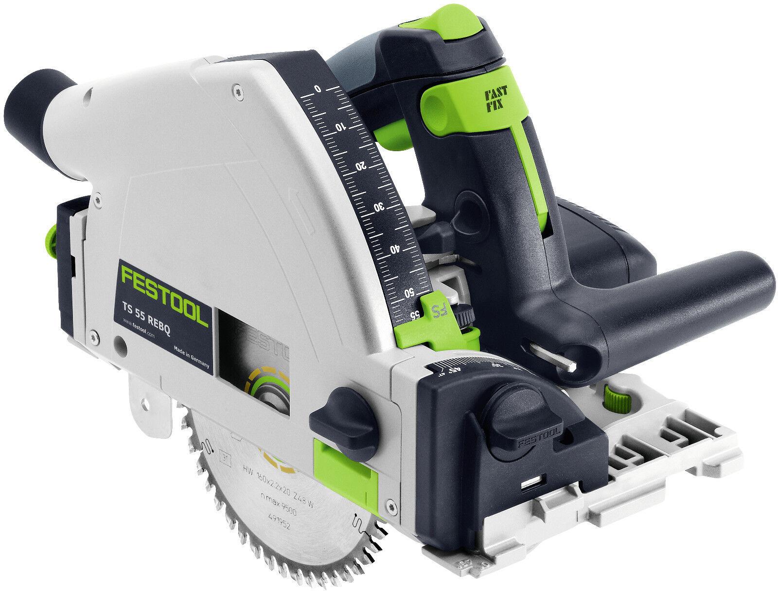 TS 55 REBQ -Plus   Handkreissäge Festool 561551 Systainer neues Modell 11/2018