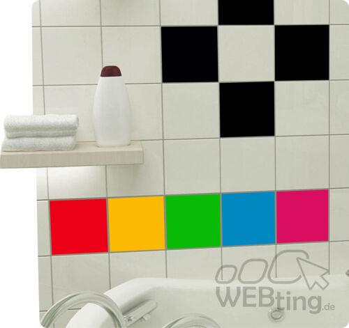 32 STK 15x15cm azulejos pegatinas cocina Bad azulejos decoración pegatinas kacheldekor