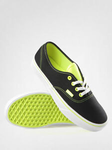 a00a3261 Details about NEW VANS AUTHENTIC T POP NEON BLACK YELLOW SHOES MENS 3.5  WOMENS 5 NEW KIDS