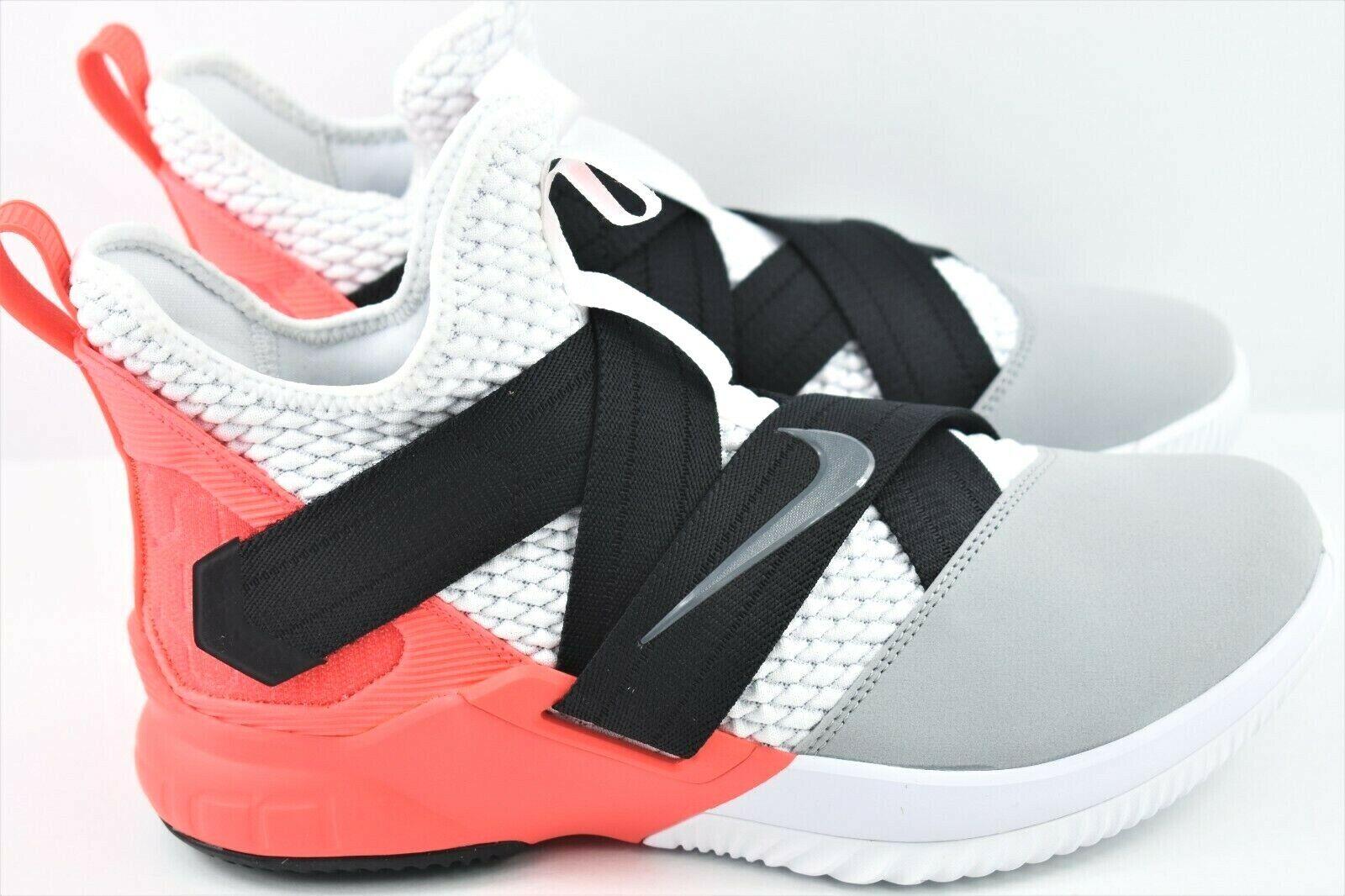 0f077462697 Nike Lebron Soldier XII SFG Mens Mens Mens Size 9 Basketball shoes White  AO4054 102 b15db3