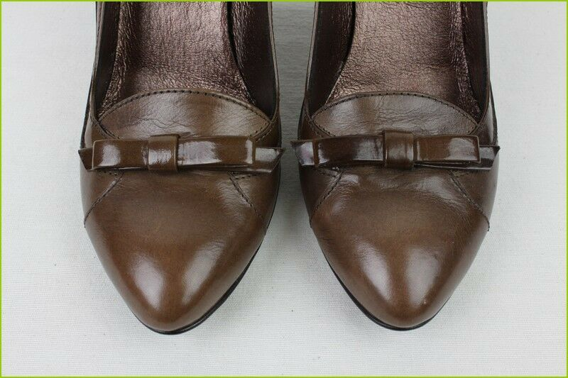 Court shoes SAN MARINA MARINA MARINA Brown Leather T 37 NEW CONDITION ac8f17
