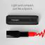Batterie-Externe-Spigen-Taille-du-Rouge-a-Levres-3350mAh-Tout-Noir-Batter