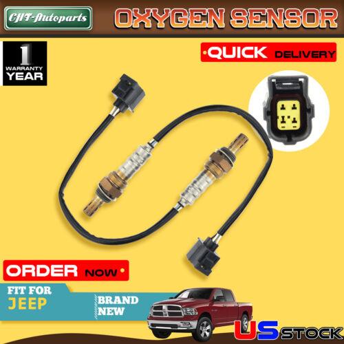2x Oxygen Sensors for Dodge Dakota 2001-2002 Jeep Liberty 02-03 Wrangler 03-04
