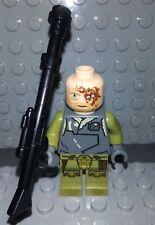 Lego Obi-Wan Kenobi Rako Hardeen Head piece from set 75024 for Star Wars 6043213