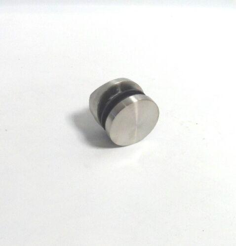 Glashalter Punkthalter Ø50mm V2A Edelstahl für Rohr Ø 42,4mm