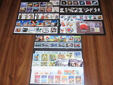GB COMPLETE YEAR 13 SETS COMMEMORATIVE STAMPS PLUS 5 MINI SHEETS 2007 UM/MNH