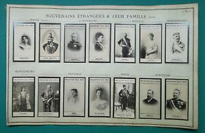 1900-PORTRAIT-PHOTOS-Kings-Queens-Italy-Montenegro-Persia-Portugal-Monaco-etc
