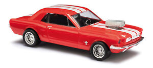 Busch-47575-Ford-Mustang-Muscle-Car-Auto-Modell-1-87-H0