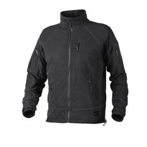 Belle Helikon Tex Alpha Tactical Grid Lwh Outdoor Fleece Veste Jacket Noir Black-afficher Le Titre D'origine