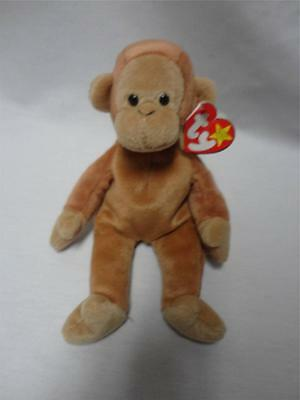 TY Beanie Baby Bongo the Monkey August 17th 1995