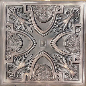 pl11 faux tin finishes antiquity ceiling tiles cafe decor wall