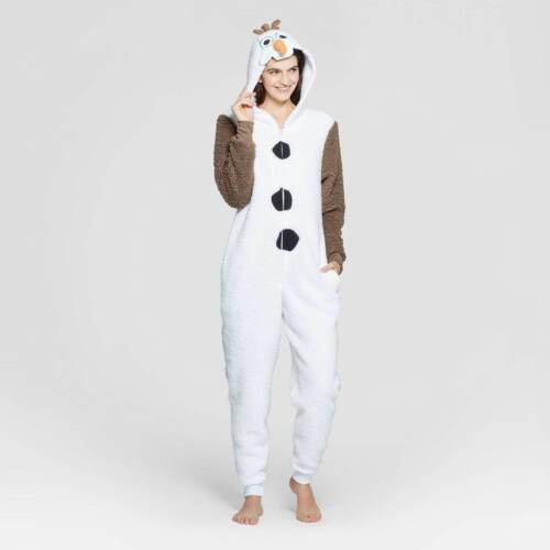 DISNEY FROZEN OLAF SLEEPER PAJAMAS WOMENS SIZE S L XL NEW!
