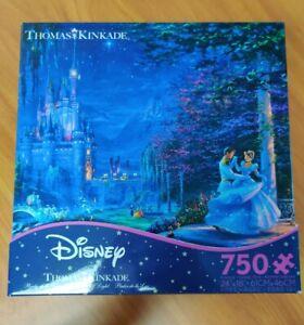 New-Thomas-Kinkade-Disney-Cinderella-Dancing-Starlight-Puzzle-750-Piece