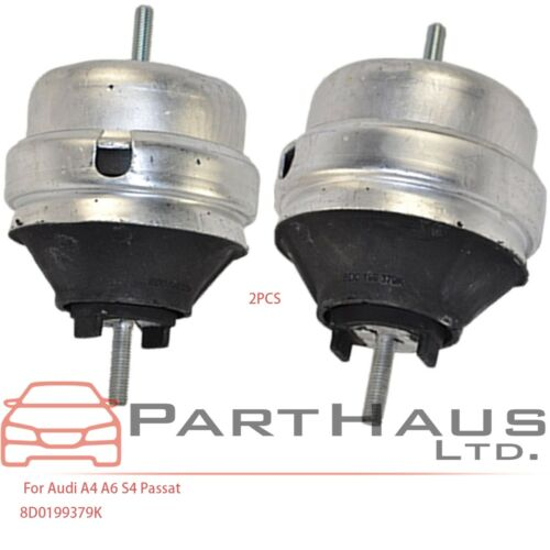 For Audi Volkswagen Passat S4 A4 A6 Quattro Engine Motor Mount Lt /& Rt 2Pcs