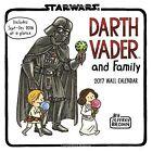 Darth Vader and Family 2017 Wall Calendar (calendars 2017)