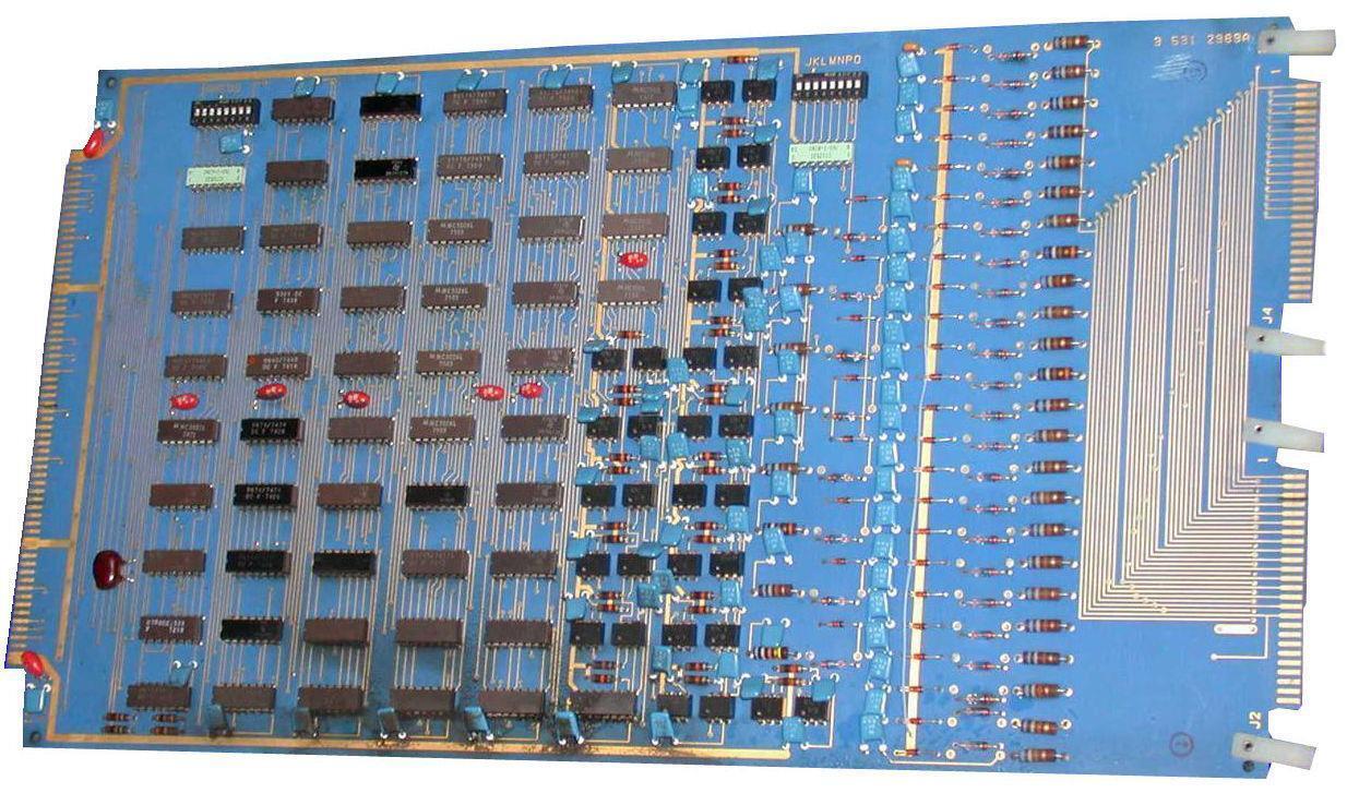 CINCINNATI MILACRON 3-531-2989A CONTROL INTERFACE - SOLD AS IS