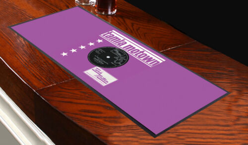 TAMLA MOTOWN FRANK WILSON PINK BAR RUNNER IDEAL FOR ANY OCCASION PARTY/'S PUBS