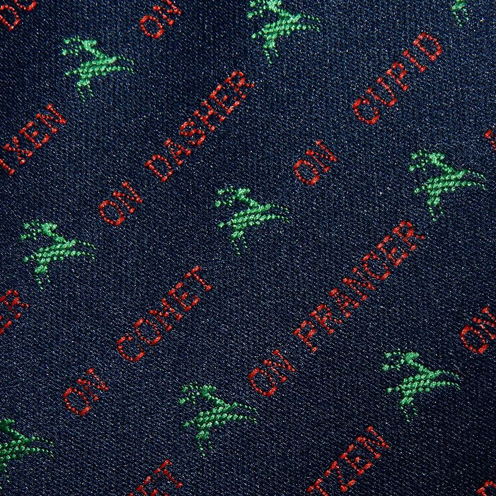 ? sabes los nombres de Santa's Renos Rudolph Ciervo christomas corbata?