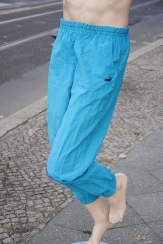 Nylon Puma Sporthose Trainingshose Blau Vintage Fitness Turnhose Silky True IIwCq7nUWB