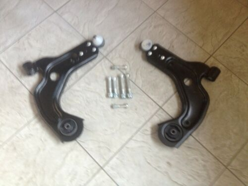 FORD FIESTA MK 4  96-02 TWO FRONT LOWER WISHBONE ARMS /& 6 FIXING  BOLTS  RH /& LH