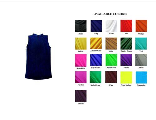 Homme/'S Sans Manches De Compression Shirt Solid Color Spandex Tissu neuf sans Original balises