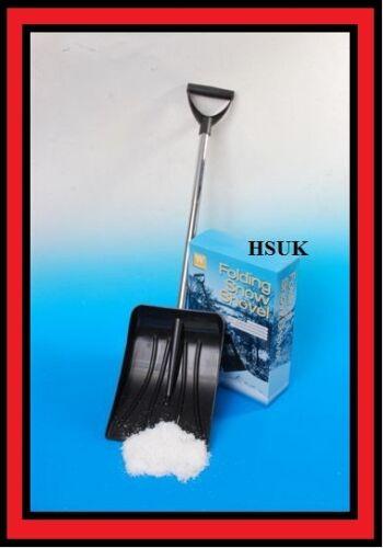 Pliez repliable neige pousseur charrue scoop Bêche pelle nettoyer les stèles portable