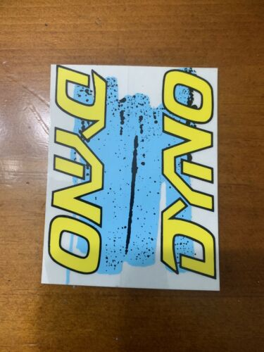 Old School Dyno Compe Freestyle BMX Cadre Head Tube Decal Autocollant