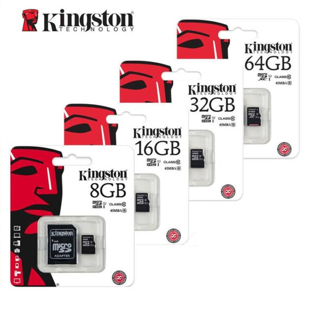 Kingston micro carte mémoire carte SD 128 go 4,8,16,32,64go  MicroSDHC Classe 10