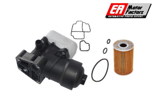 AUDI VW 1.6TDi 2.0TDi OIL FILTER HOUSING FILTER CAP /& GASKET SET FOR 03L115389C