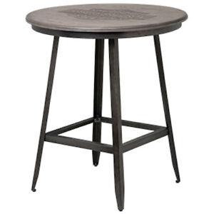 Harley Davidson Bar Amp Shield Rustic Wood Caf Pub Table Hdl