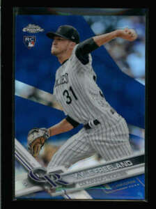 KYLE-FREELAND-2017-TOPPS-CHROME-59-ROOKIE-BLUE-REFRACTOR-127-150-AY9826